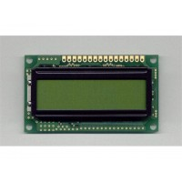 LCD 16 X 2 CHARACTER C/W BACKLIGHT - Black on Green